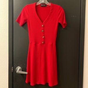New Reformation Red Dress